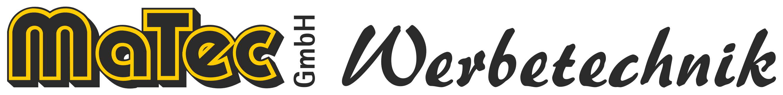 Logo MaTec GmbH Werbetechnik in Viernau/Thüringen