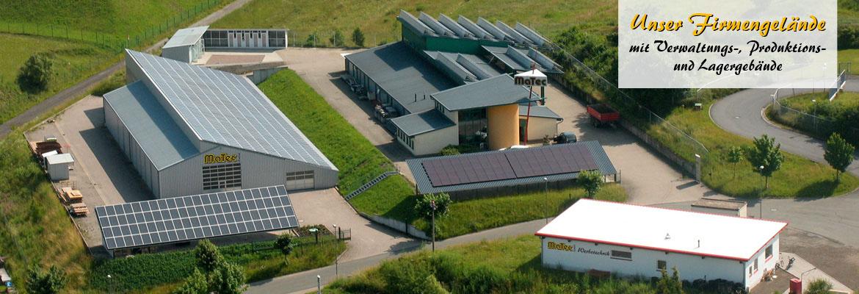 Firmengelände der MaTec GmbH